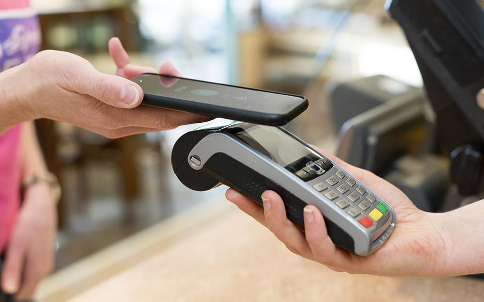 payment by phone with epos terminal