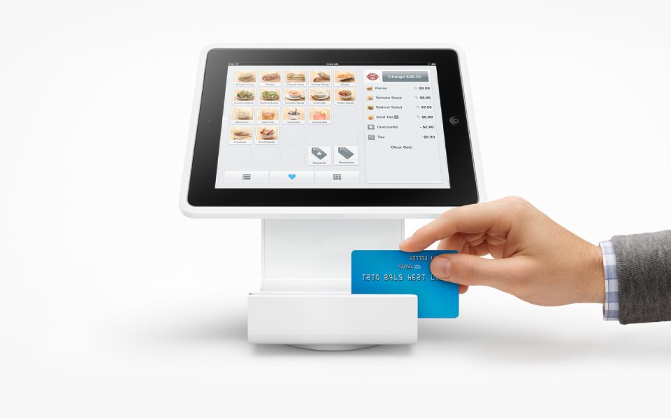payment via tablet based pos terminal